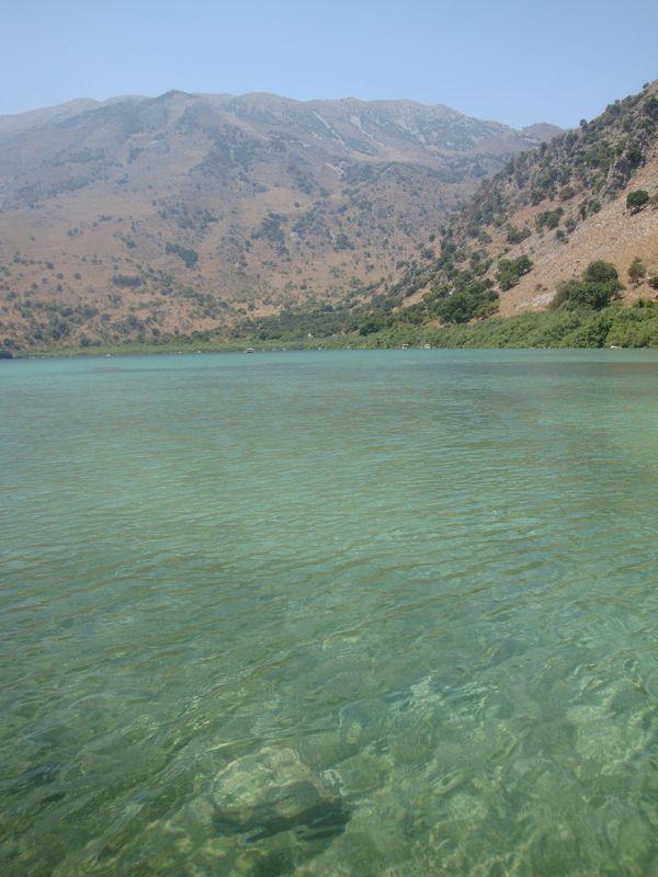 008. Pure turquoise waters - Lake Kournas (Η λίμνη Κουρνά)