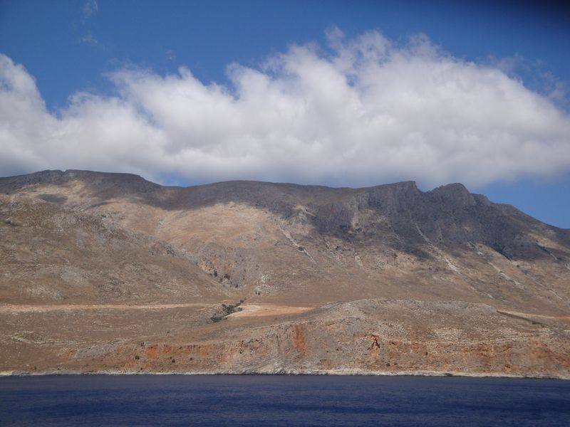 020. Where the clouds touch the mountains - Voyage to the Gramvousa Fortress (Γραμβούσα) and Balos (Μπάλος) Bay. The North-Western tip of Crete