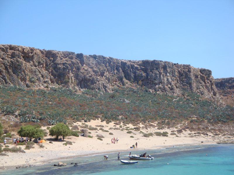 026. Agava grove - Gramvousa-Balos cruise. The North-Western tip of Crete