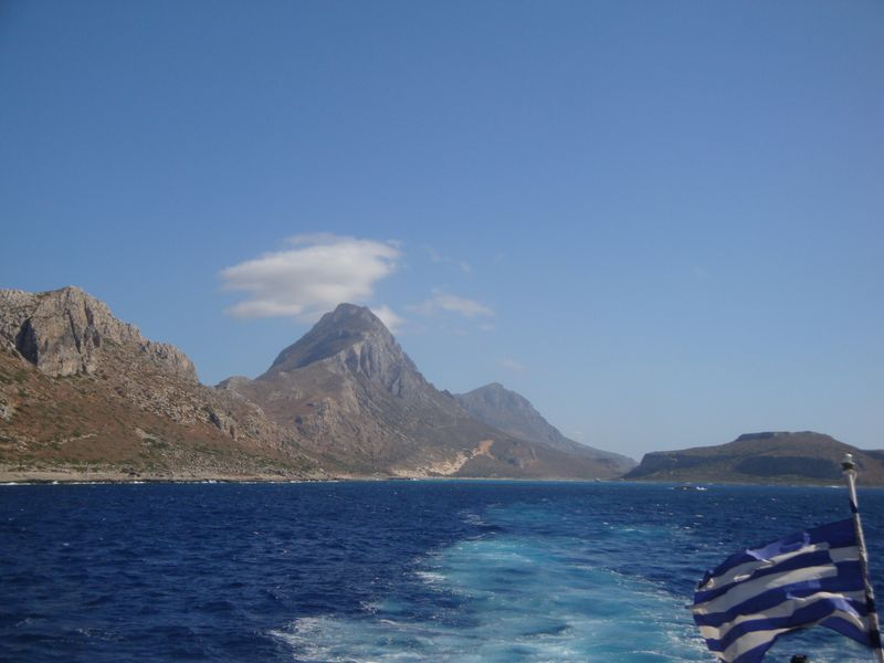 042. Way back from Balos Bay - Gramvousa-Balos cruise. The North-Western tip of Crete