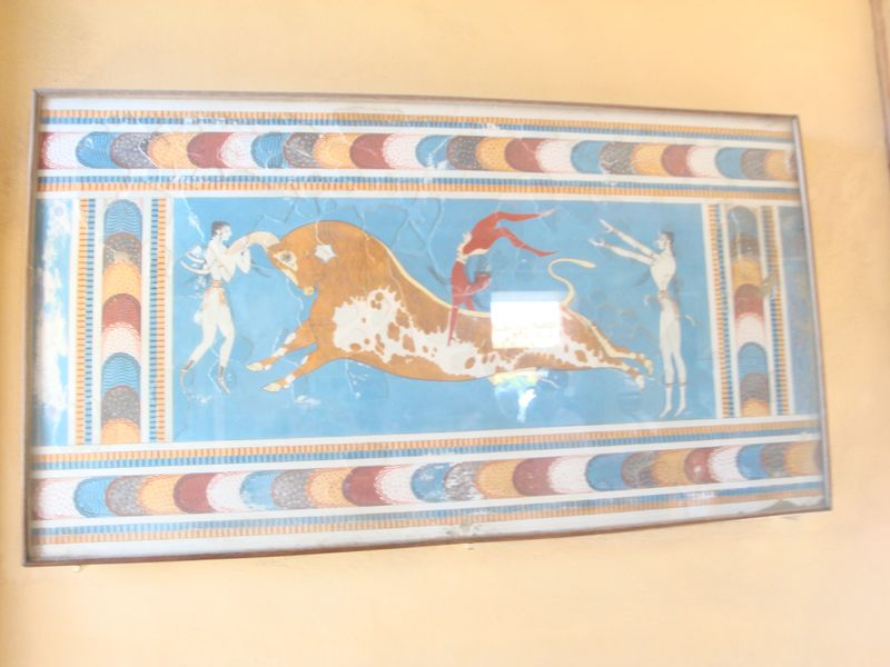 048. Dancers on a leaping bull - Knossos (Κνωσσός)
