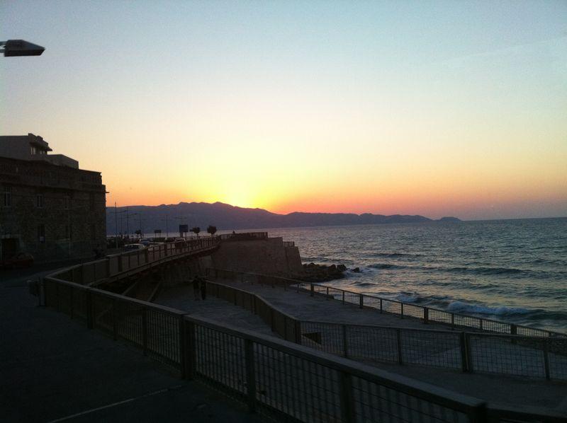 113. Sunset in Heraklion - (Ηράκλειο)