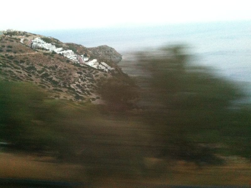 114. Greek Village - View from the bus on the way from Heraklion