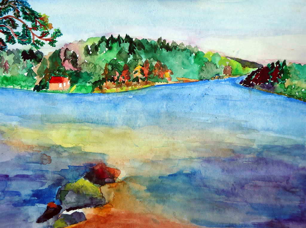 11. Sunny landscape - Viljakkala, South-West Finland