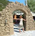 25. Arc of Villa Donna - This arc was moved from the Villa Donna to Glysteri beach (Γλυστέρι)
