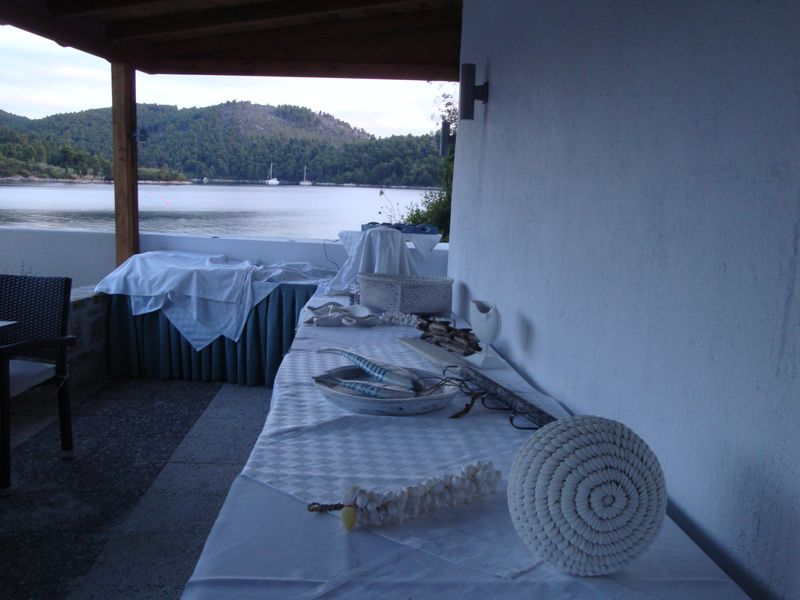 029. Marine style - This is an upper restaurant for breakfasts and evening dinners of Blue Suites hotel