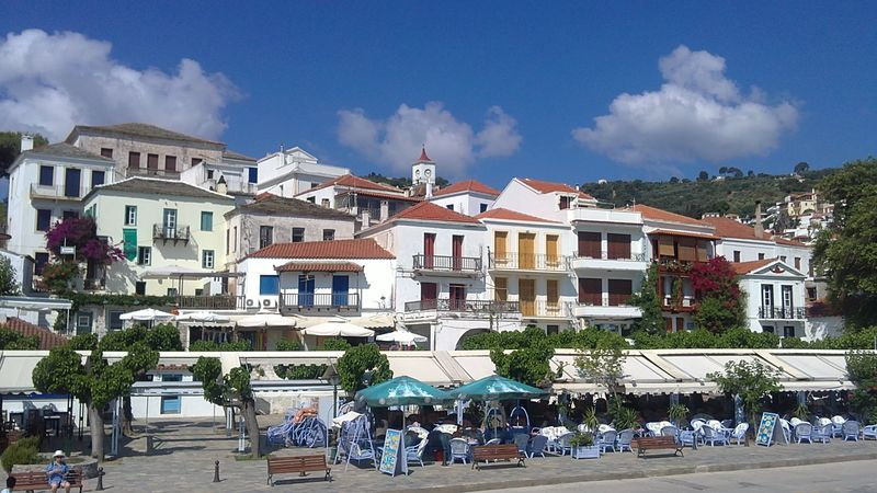 034. Varicolored Hora (Χώρα) - In other words, this is a Skopelos town (Σκόπελος)