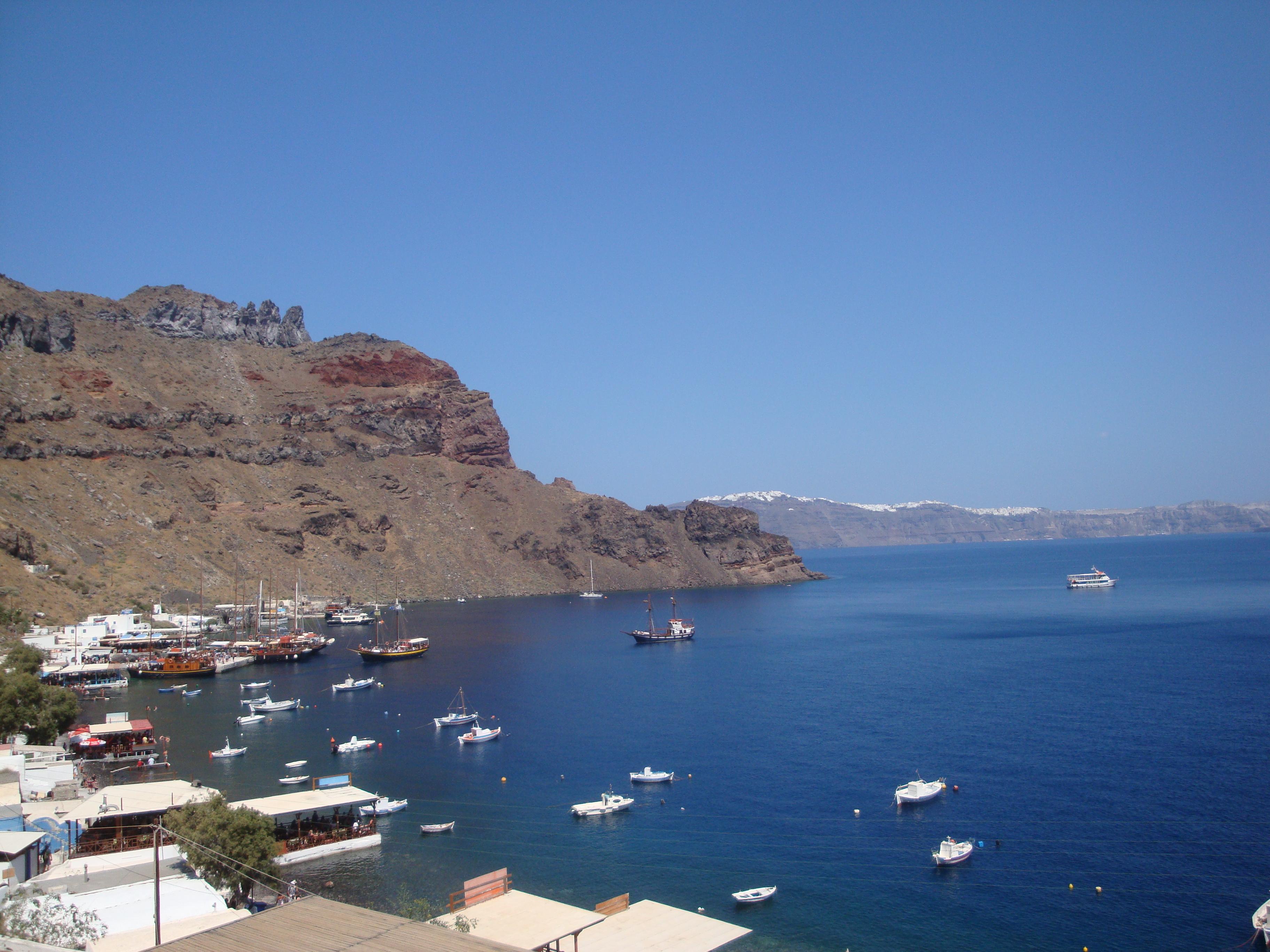 13. Picturesque harbor of Therasia Island - (Θηρασία) Santorini