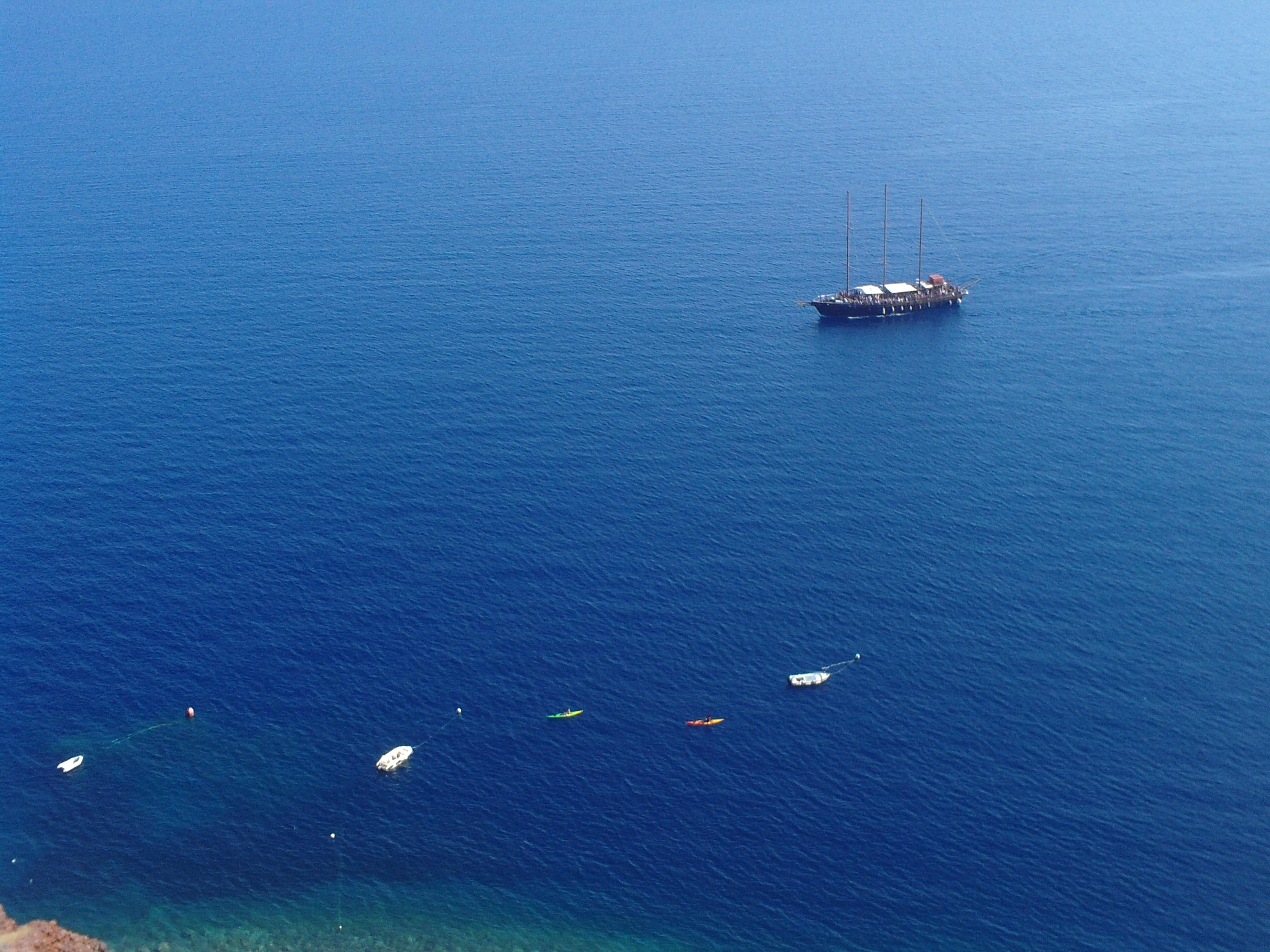 16. Sea view from the donkey path - Oia, Santorini