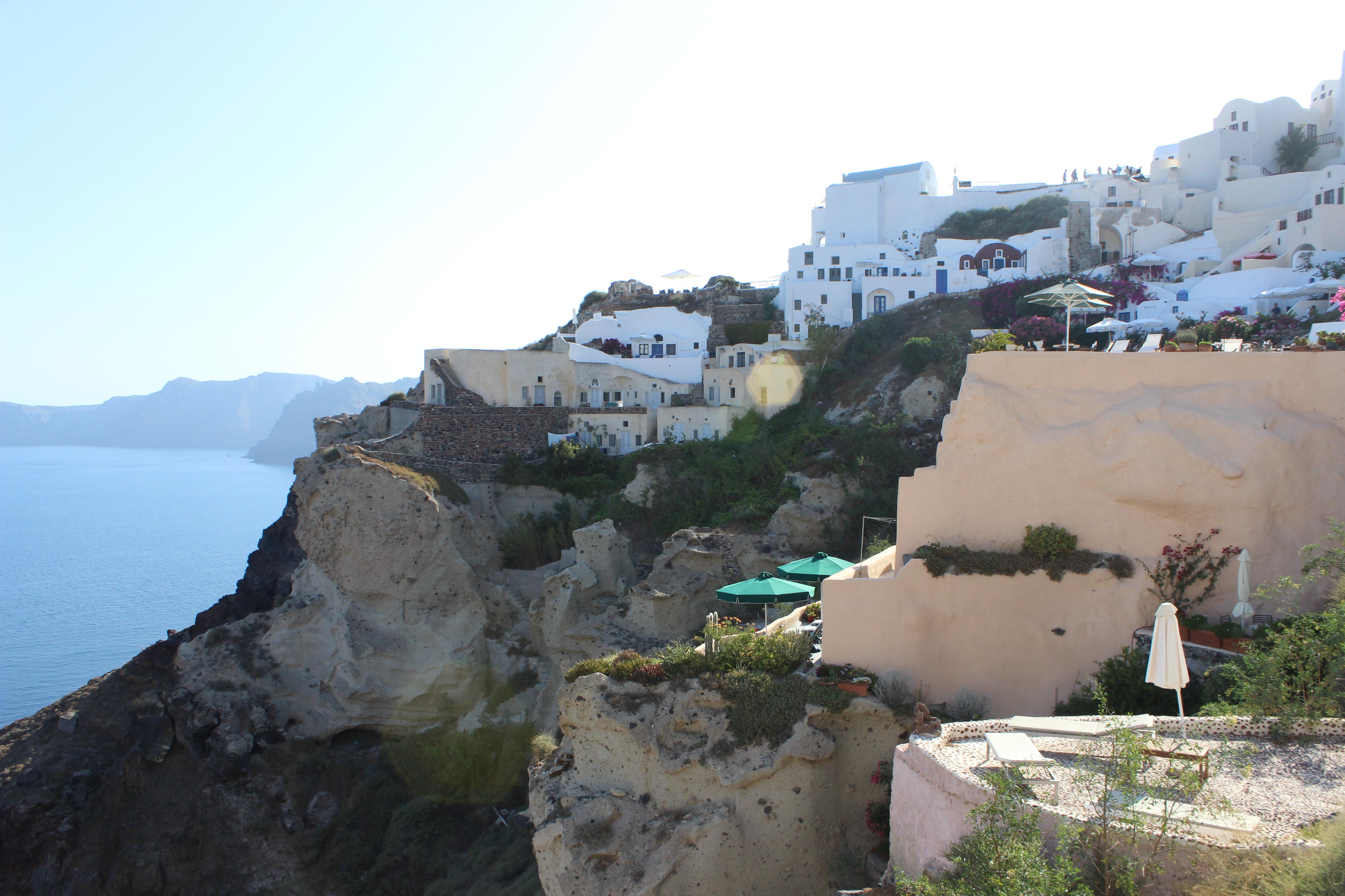 18. White houses on the rocks - Oia, Santorini