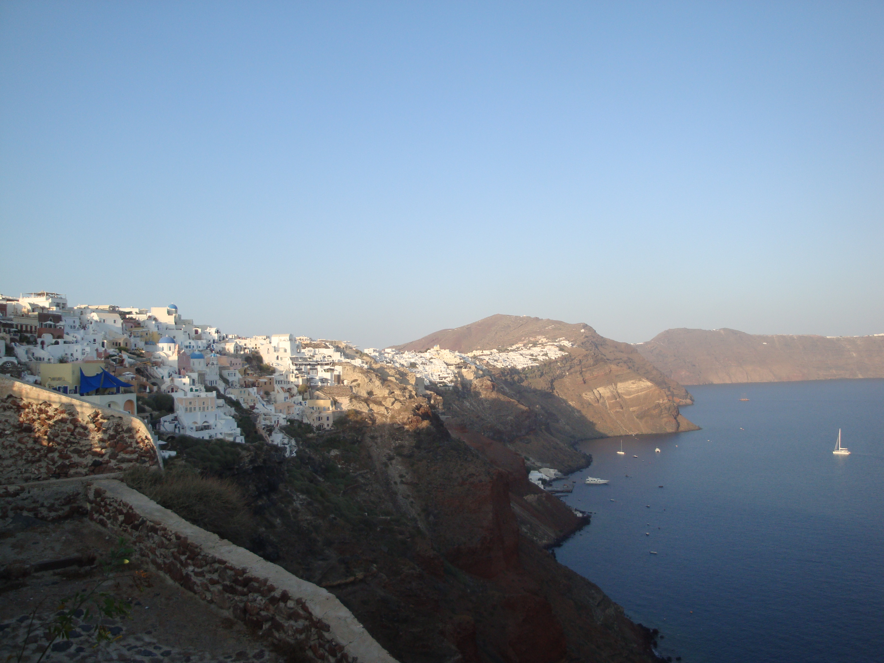 25. The other side of Oia - Santorini