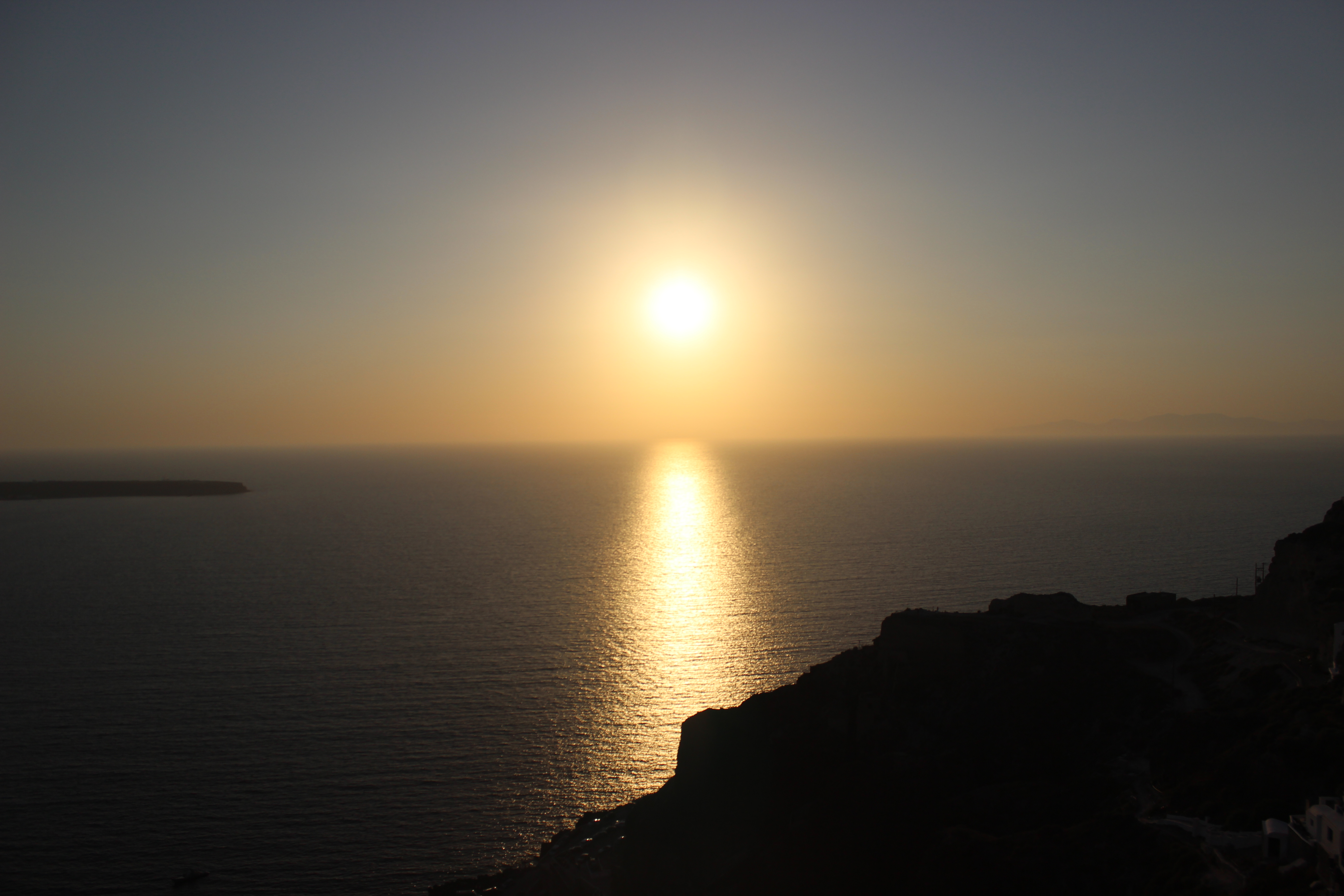 29. Silver and gold of Sunset - Oia, Santorini