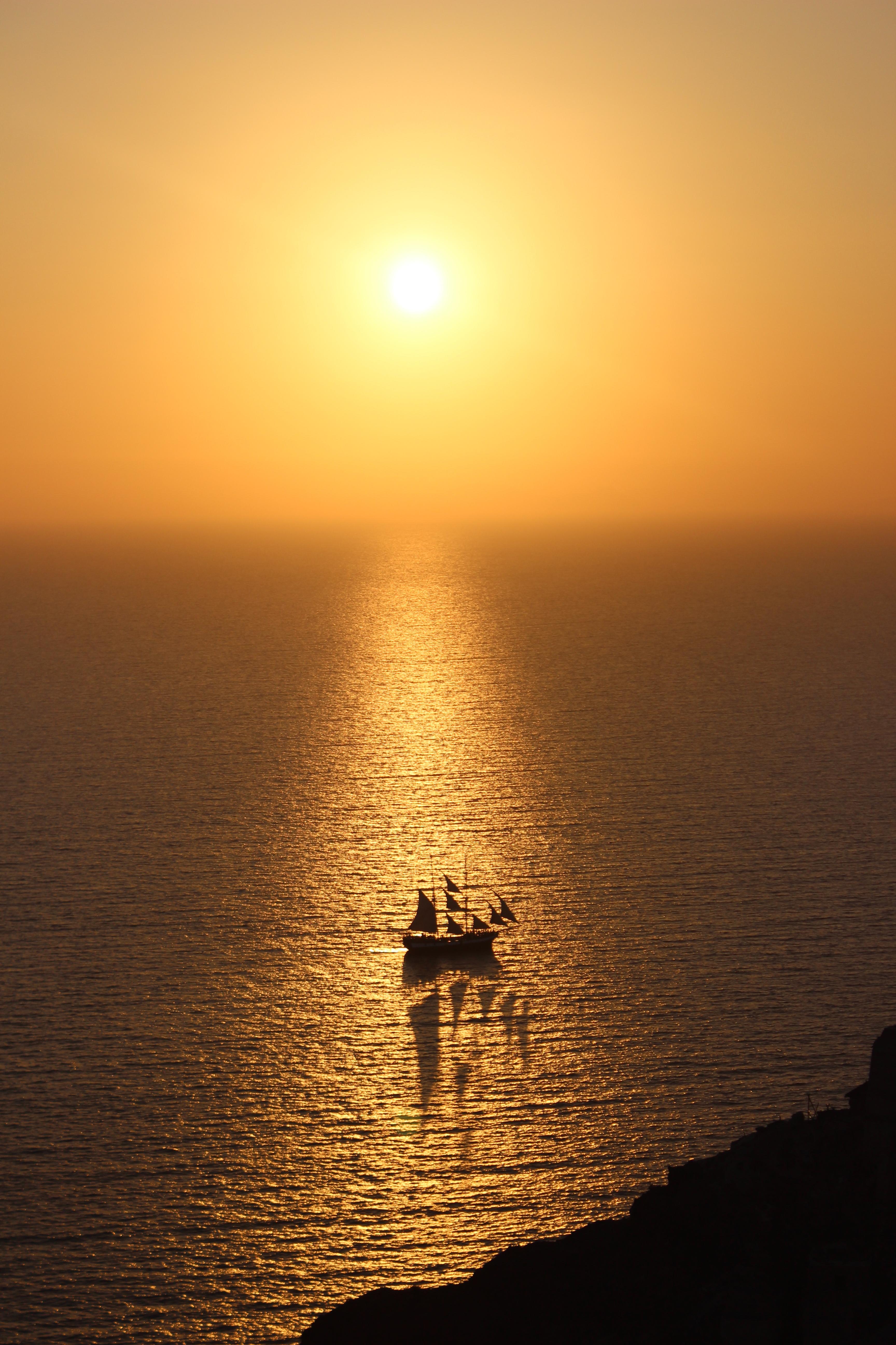 31. Epic Sunset in Oia - Santorini