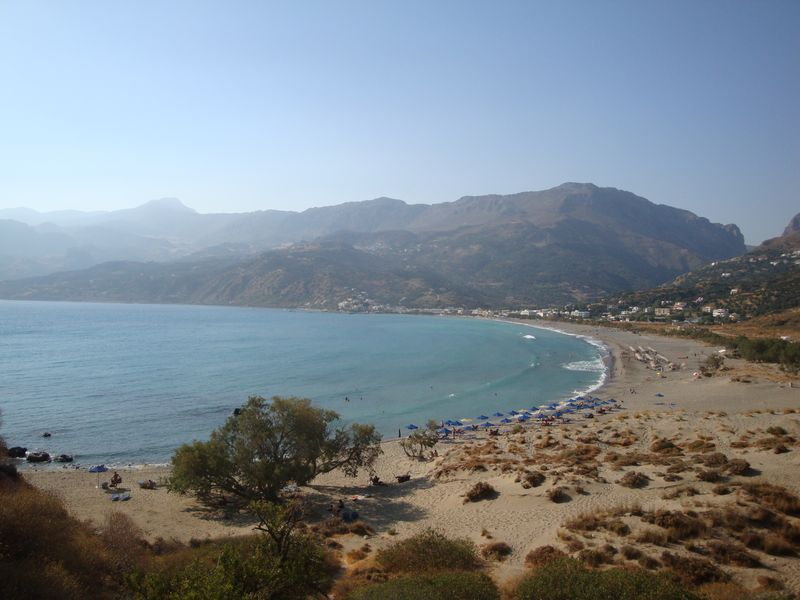 066. View of the Plakias bay - Plakias, Rethymno (Πλακιάς, Ρέθυμνο), South Crete.