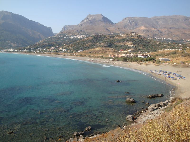 068. Exciting view from above - Plakias bay, South Crete