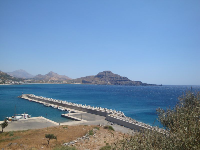 101. Small pier - The right part of Plakias bay (Πλακιάς), South Crete