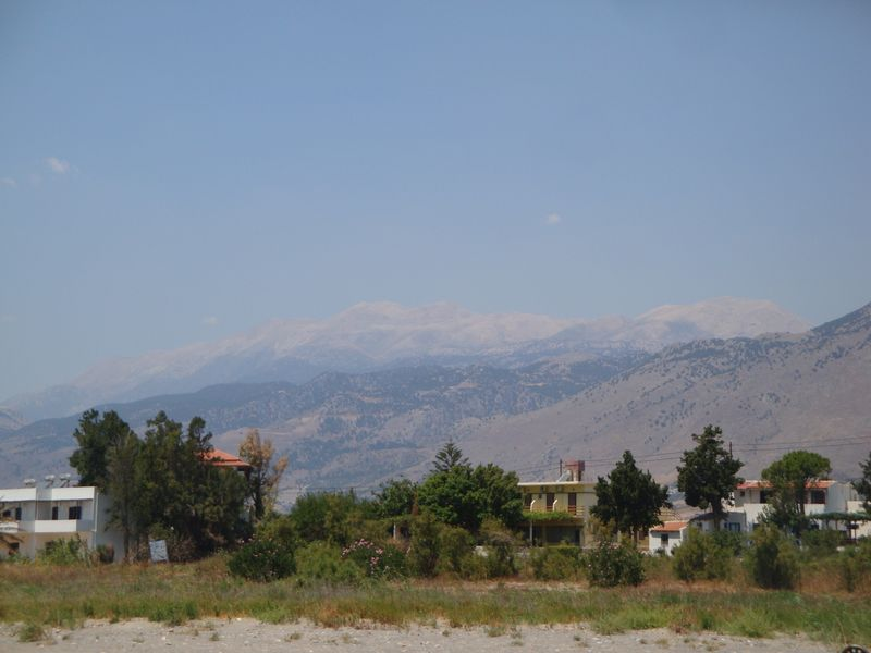 110. White mountains - Chania (Χανιά), South Crete.