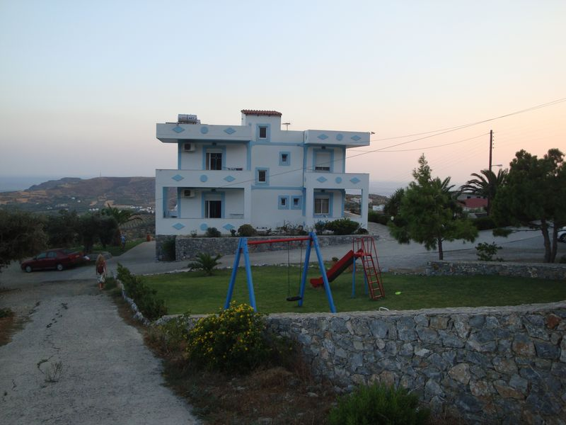 116. Our mini-hotel - It's a splendid hotel with a perfect view and a very hospitable female-owner! South Crete.